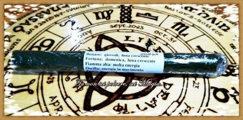 candela rituale denaro - fortuna