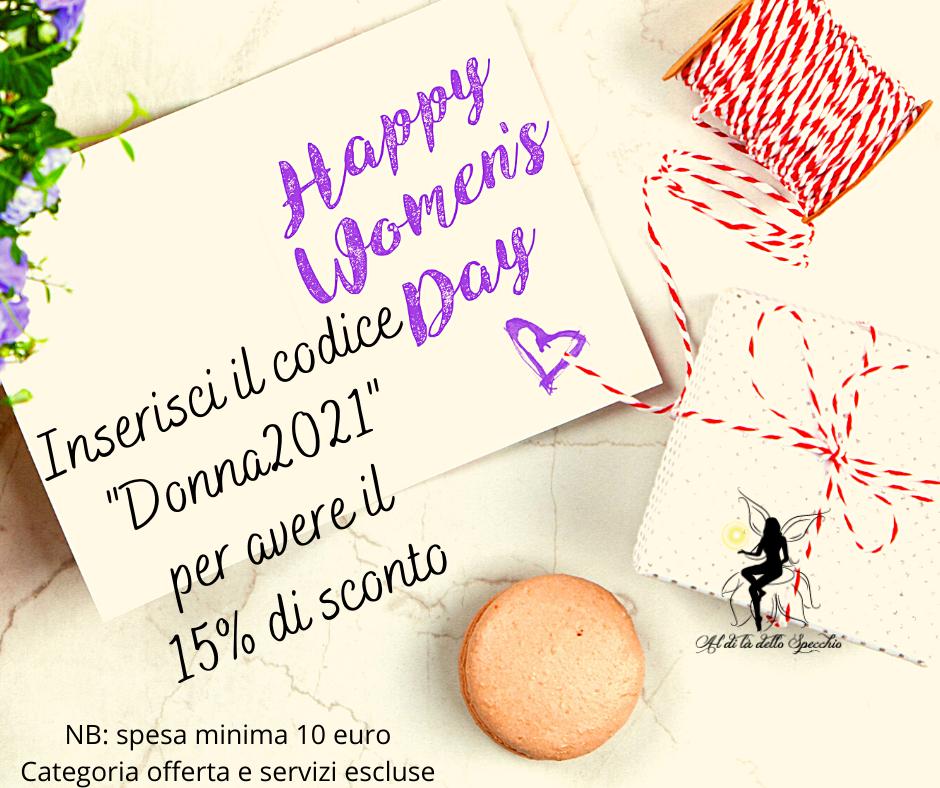 coupon festa donna
